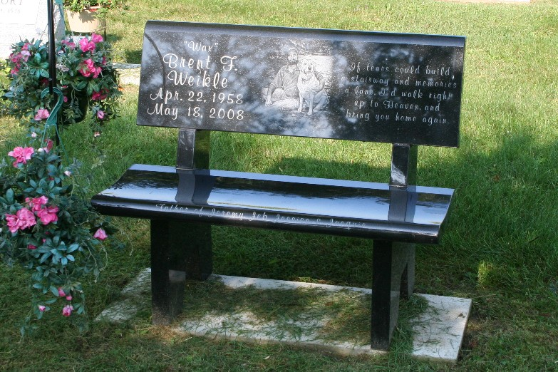 Ashland Monument Co Cemetery Benches